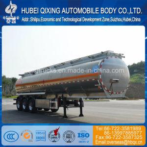 アルミ合金46cbmの燃料のタンカーのセミトレーラー