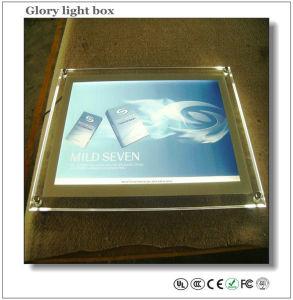 Casella chiara di cristallo acrilica del LED