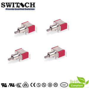SGS Touch Electronical Micro Metal Toggle Switch per Machine