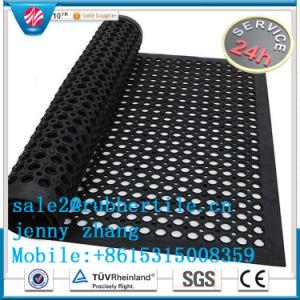 産業Anti-Fatigue及びオイルの抵抗力があるゴム製床のマットは卸し売りする