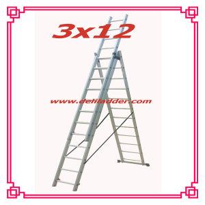 3セクションExtension Ladder 3x12 (DLE312)