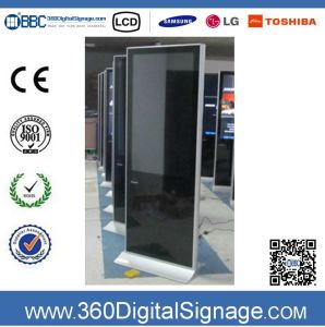 47 pollici HD Floor Standing Network Digital Signage WiFi Advertizing Software con Network 3G/WiFi per Hospital