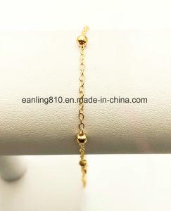 Billes de câble de station de chaîne de cheville de la chaîne de perles Bracelet bijoux de mode