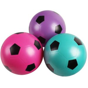 Esfera de futebol inflável do brinquedo do PVC