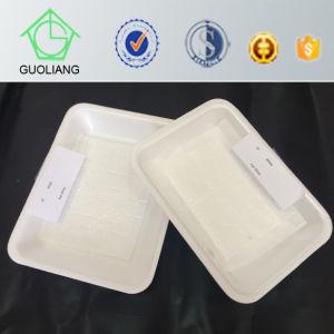 Bandeja de carne de plástico descartáveis com almofada de absorção