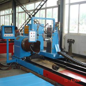 Máquina de corte por plasma CNC de corte e chanfro multi-eixos para tubos de metal