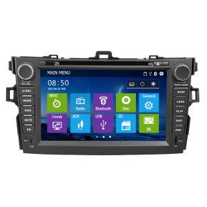Toyota Corolla 2008를 위한 GPS를 가진 차 DVD 2009 2010 2011년 (IY0828)
