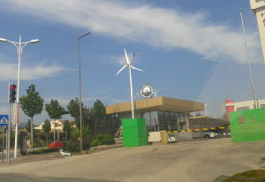 5kw Pitch Controlled High Efficiency Wind Turbine Generator
