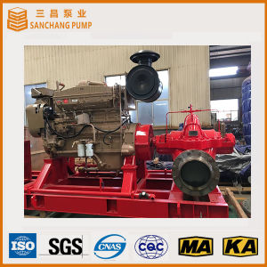 L'unità stabilita della pompa della pompa diesel di uso di irrigazione non ha bisogno pompa elettrica/diesel per irrigazione/prevenzione dell'inondazione/lotta di fuoco