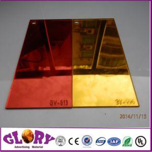 Het plastic Zilveren Blad van de Spiegel van de een-kras Acryl voor Decoratief en Muur