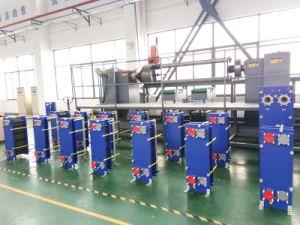 エタノール装置のための版そしてフレームの熱交換器