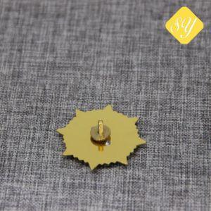 Kundenspezifische Großhandelspolizei benennt Auto-Decklack-Metall preiswerte Pin-Abzeichen-Fabrik