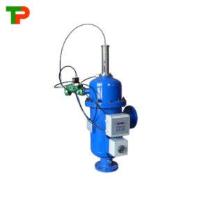 Filtro de limpieza automática para tratamiento de aguas residuales