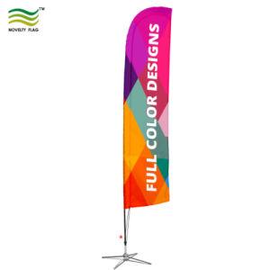 Пляж флаг, Swooper флаги, пуховые баннер с остроконечными соединения на массу