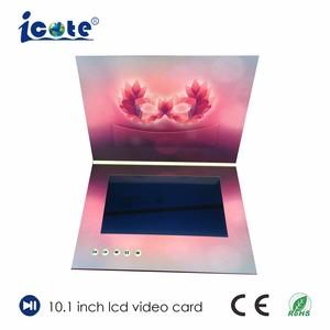 Digitahi una video scheda di 10.1 di pollice dello schermo molto bello dell'affissione a cristalli liquidi, video opuscolo