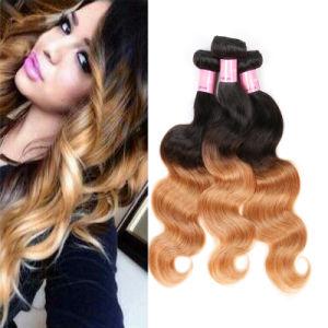 7A Ombre Virgem Brasileira Onda Corpo Cabelo cabelos loiros