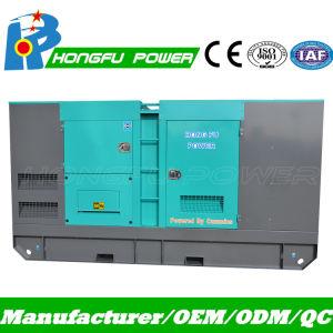 50kw nominale 63kVA Standby 55kw 70kVA générateur électrique de gazole avec faible bruit