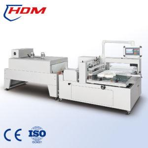 Máquina Automática Termal de Envoltorio Retractor de Calor de Contracción de Papel Pintado