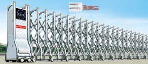 Portello ritrattabile scorrevole elettrico della lega di alluminio (Hz-H05502)