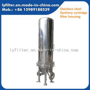 Membranen-Kassetten-Luft-Dampf-Filtergehäuse-Hersteller des Edelstahl-304 316 gesundheitlicher einzelner multi