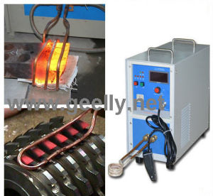 カッターのブレイズ溶接のための誘導加熱機械