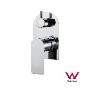 Gesundheitlicher Ware-Badezimmer-Dusche-Mischer mit Wasserzeichen-Standard (AE34B34YC)