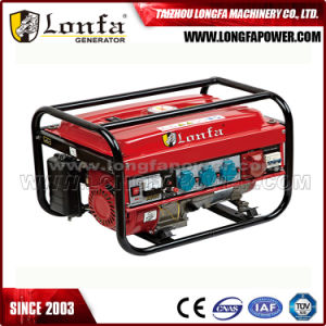 3-phasiges bewegliches Generator-Set des Benzin-5kVA/5kw