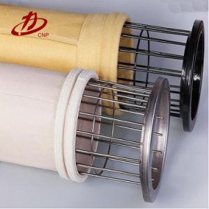 Poliamida industriales (nylon) Needled Filtro de fieltro Bolsa para colector de polvo