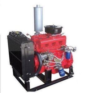Motore diesel di inizio elettrico di inizio e di stile freddo raffreddato ad acqua per gli insiemi 4105QA della pompa ad acqua