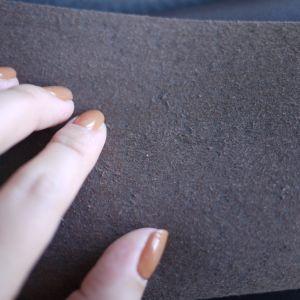 Em pele genuína de alta qualidade para a bolsa de microfibra Handfeeling Sofá fazendo