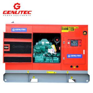 64квт электрической мощности генератора 80 ква бесшумный дизельного двигателя Cummins генератор (GPC80S)