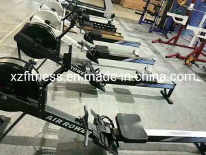 Macchina di rematura nera di forma fisica del Rower dell'aria di concetto 2