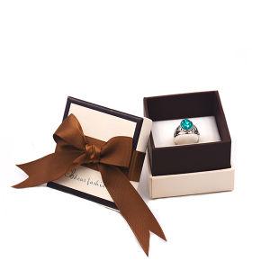 Anel de papelão de papel de luxo personalizado jóias de Embalagem