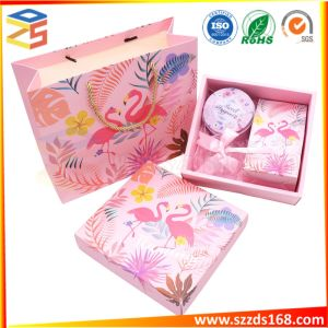 Flamingo Box Set de Regalo romántico Bridesmaid Team Caja de regalo de chocolate Candy Box