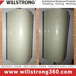 comitato bianco del segno del materiale composito di Acm di lucentezza di 4mm Doubleside