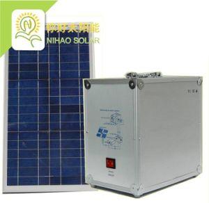 500W, système d'énergie solaire PV générateur hors réseau portable (avec panneau de commande)