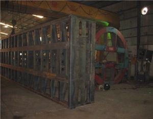 40feets Flatbed Semi Aanhangwagen 2axles