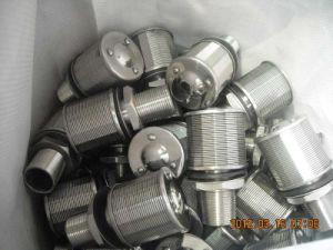 ステンレス鋼水処理のための304/316の水ウェッジワイヤーノズルかフィルターノズル