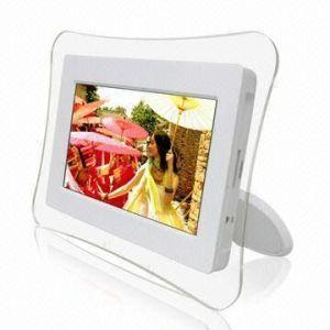Cadre photo numérique avec écran LCD(DPF-719)