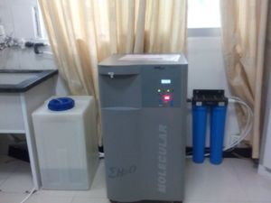 衛生検査隊装置臨床検光子のための生物化学によって浄化される水機械