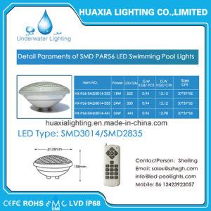 Indicatore luminoso del raggruppamento di nuoto subacqueo LED di PAR56 IP68 White/RGB