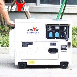 Diesel Denyo van Ce van de Leverancier BS7500dse van de bizon (China) 6kVA 7kVA de Ervaren Gediplomeerde Prijs van de Generator