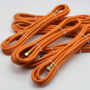 La norma ISO 3821 ID 6mm 8mm de la manguera de goma para gas propano el Gas Natural