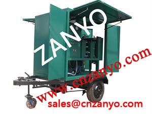 Machine utilisée mobile de traitement de pétrole de transformateur
