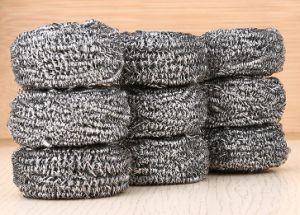 Los productos de necesidad diaria de acero inoxidable olla Scourer Scourer limpieza