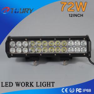 72W Dubbele Lichte LEIDENE van de Auto van Offroadlight van de Rij CREE Auto Lichte Staaf