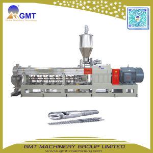 Máquina de Fatura Plástica Material da Alta Qualidade Extrusora de Parafuso Gêmea Paralela