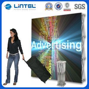 Qualität Aluminiumfabric knallen oben Bildschirmanzeige-Fahnen-Standplätze