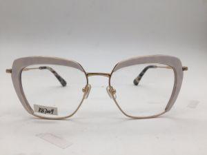 2017 Acetaat de Op hoog niveau van de Frames van de Manier van de Dame en Metaal Gecombineerde Oogglazen Eyewear (RB7009)