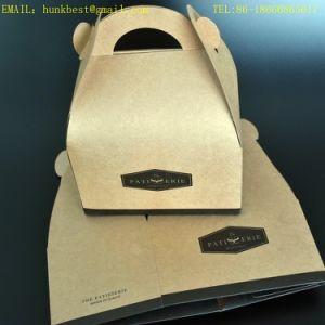 De verbazende Vakjes van de Cake van het Karton van het Document van de Vakjes van het Karton van de Verpakking van het Document van Kraftpapier